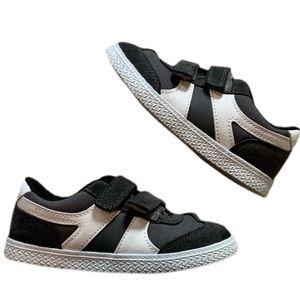 CAT & JACK dark gray velcro sneakers